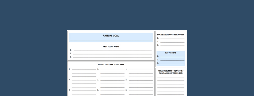 one page business plan template free download